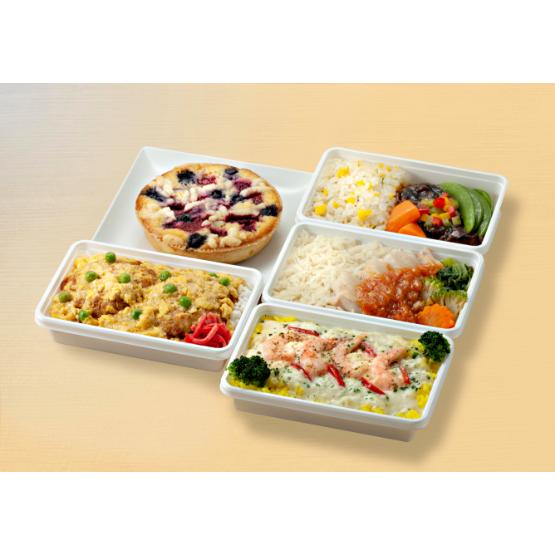 羽田空港オンラインショップの世界の機内食+タルトセット